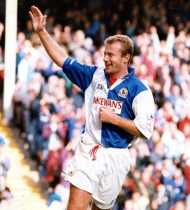 PKT5428-397277 ALAN SHEARER FOOTBALLER Everton 0 V Blackburn 3