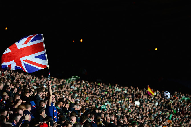 Celtic v Rangers - Scottish League Cup Semi-Final