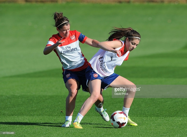 <> at London Colney on July 3, 2014 in St Albans, England.