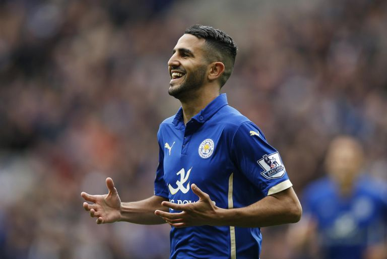 football-riyad-mahrez-celebrates-after-scoring-the-second-goal-for-leicester
