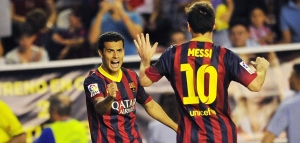 FOOTBALL : Rayo Vallecano vs FC Barcelone - Liga - 21/09/2013