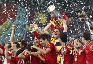 APTOPIX Soccer Euro 2012 Final Spain Italy