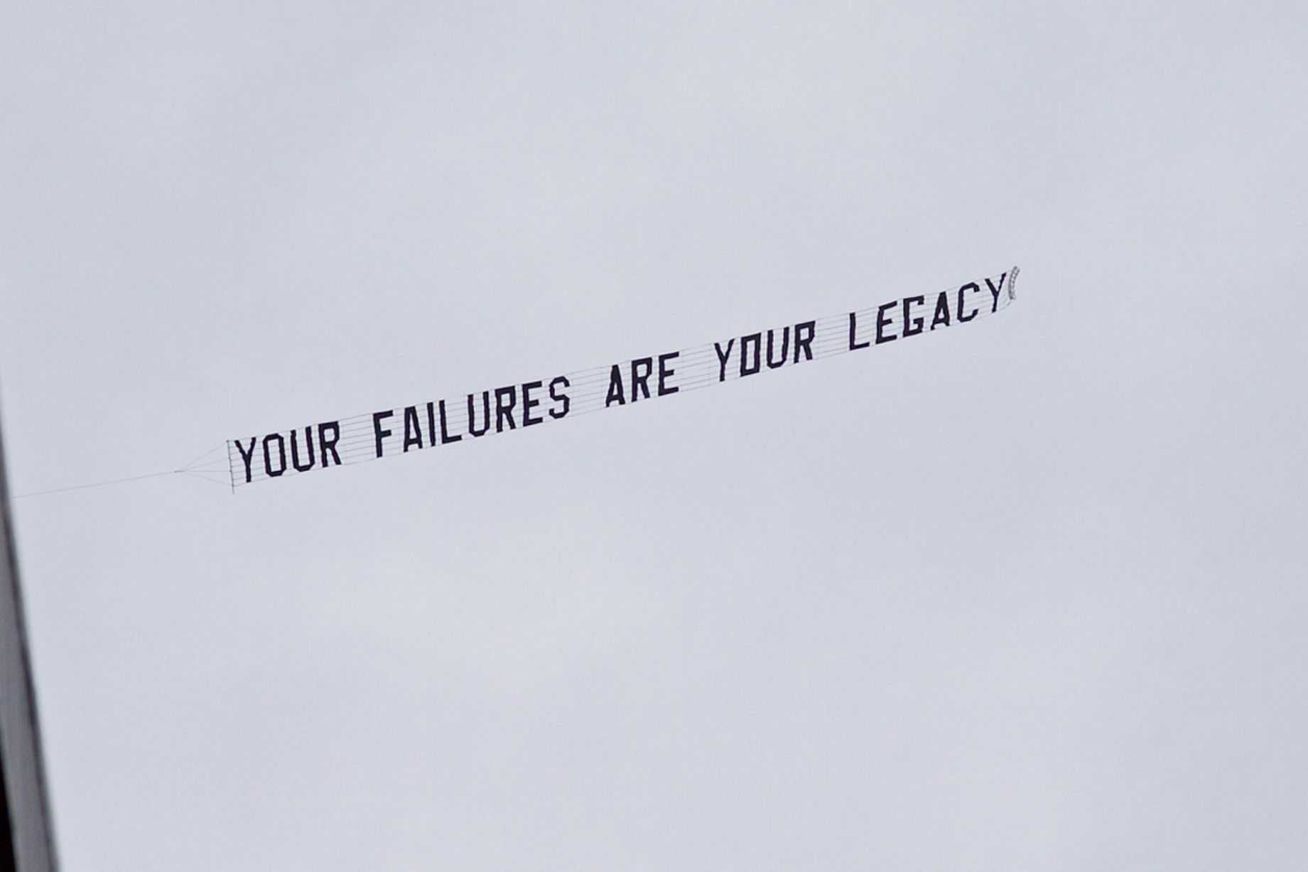 PAY-Your-Failures-Are-Your-Legacy-banner-at-Everton-vs-Chelsea