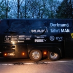 Borussia Dortmund football team bus hit by explosions
