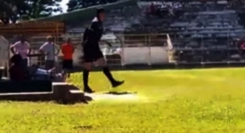Referee-Camilo-Eustquio-pulls-gun-on-footballer-FocusOn-News