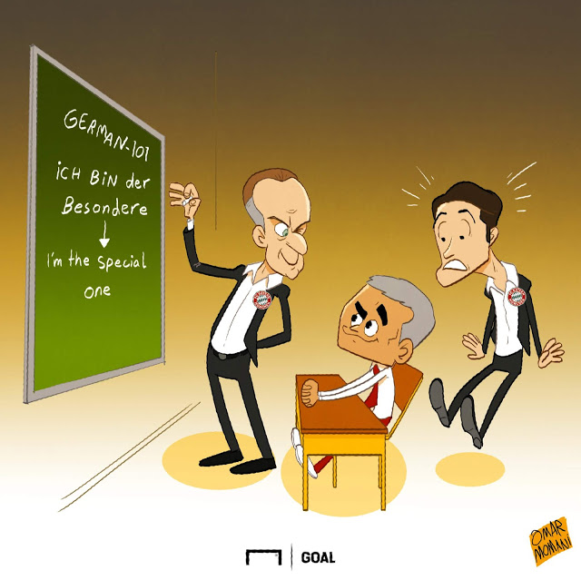 Mourinho learning German